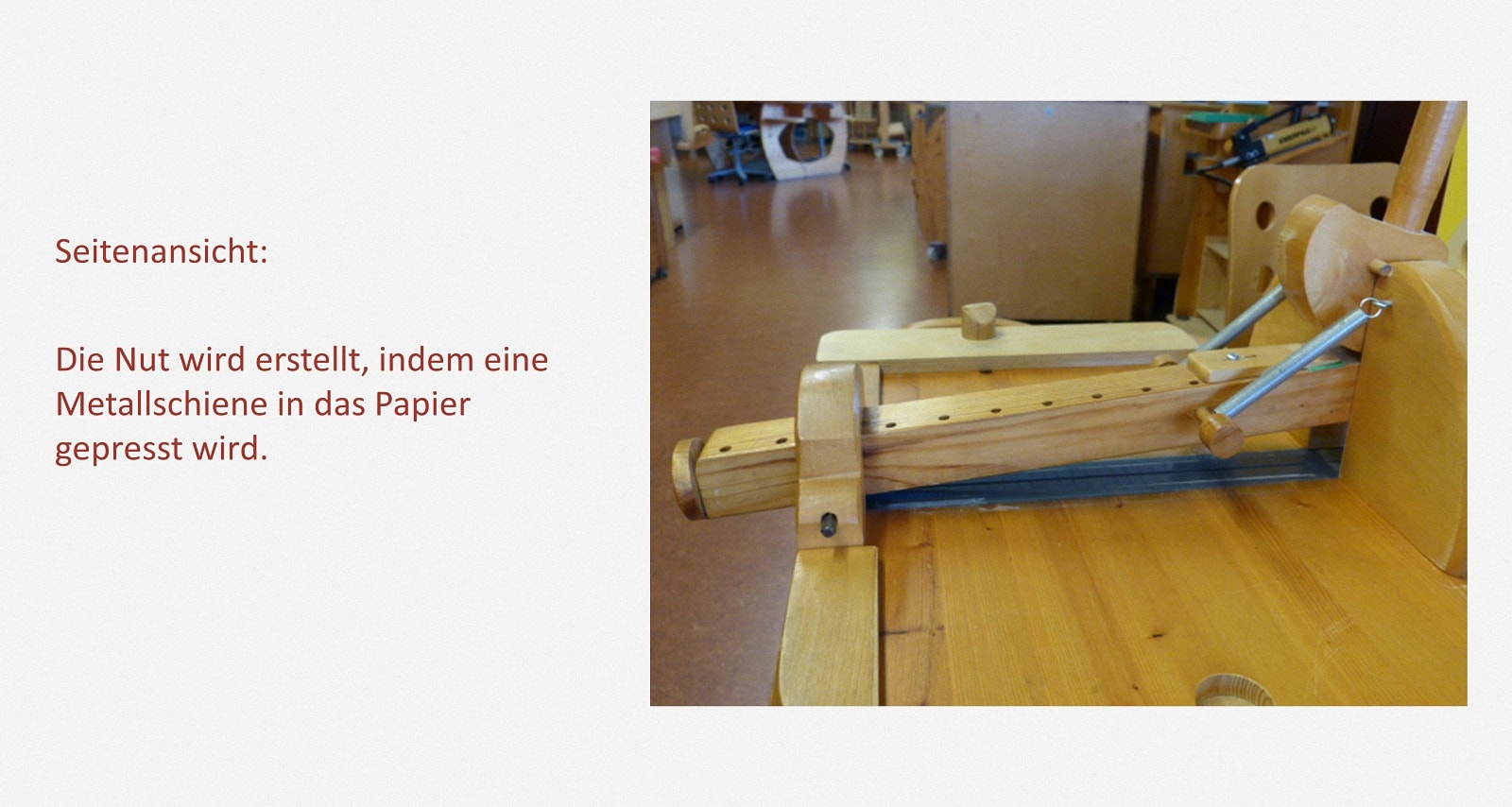 Heftumschläge nuten Karl-Schubert-Werkstätten – Filderstadt Papierwerkstatt Entwickler: Hans Martin Nüssle