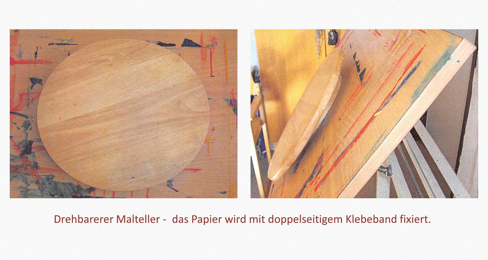 Malhilfen Leben mit Behinderung Hamburg (LmbH) Arbeit unterstützende Geräte Entwickler: Dietmar Stellmacher