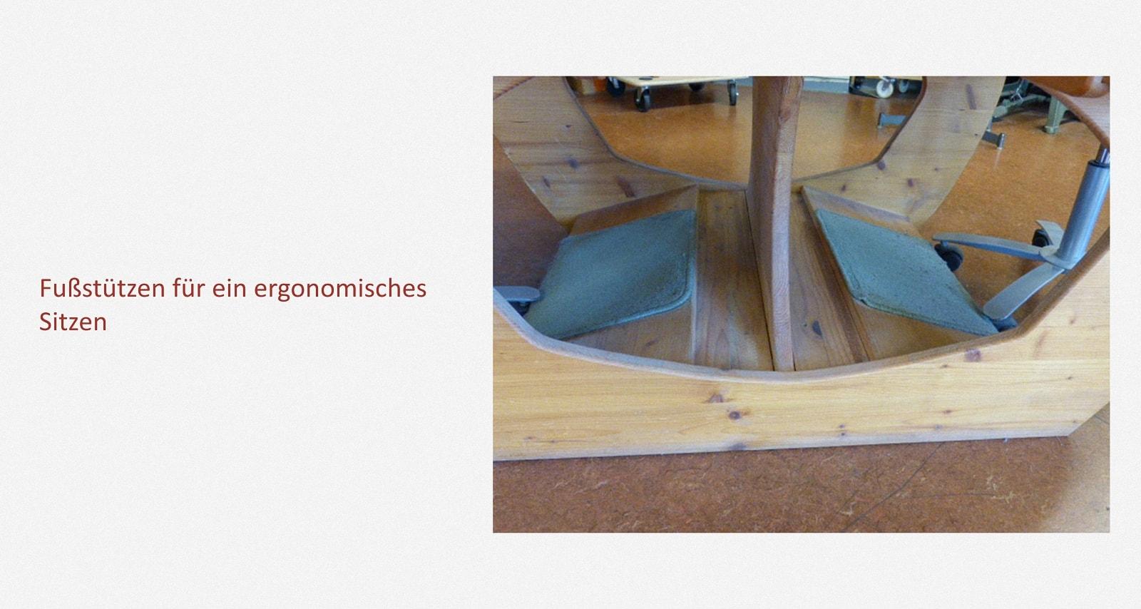 Produktion Schulhefte: Arbeitstisch – Blätter falten Karl-Schubert-Werkstätten – Filderstadt Papierwerkstatt Entwickler: Hans Martin Nüssle