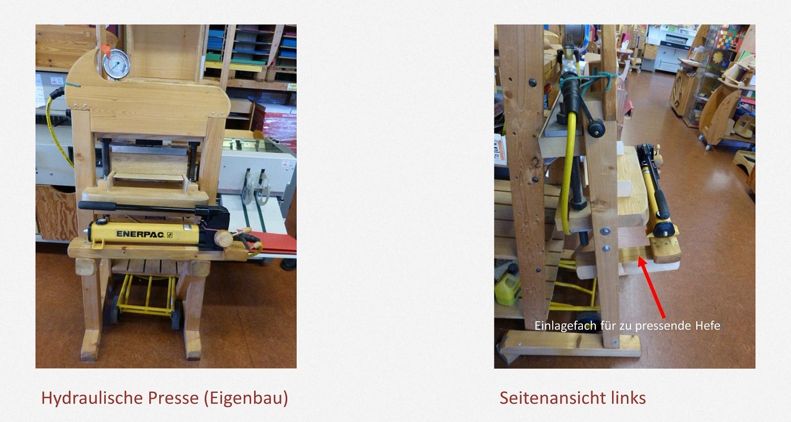 Schulhefte pressen Karl-Schubert-Werkstätten – Filderstadt Papierwerkstatt Entwickler: Hans Martin Nüssle