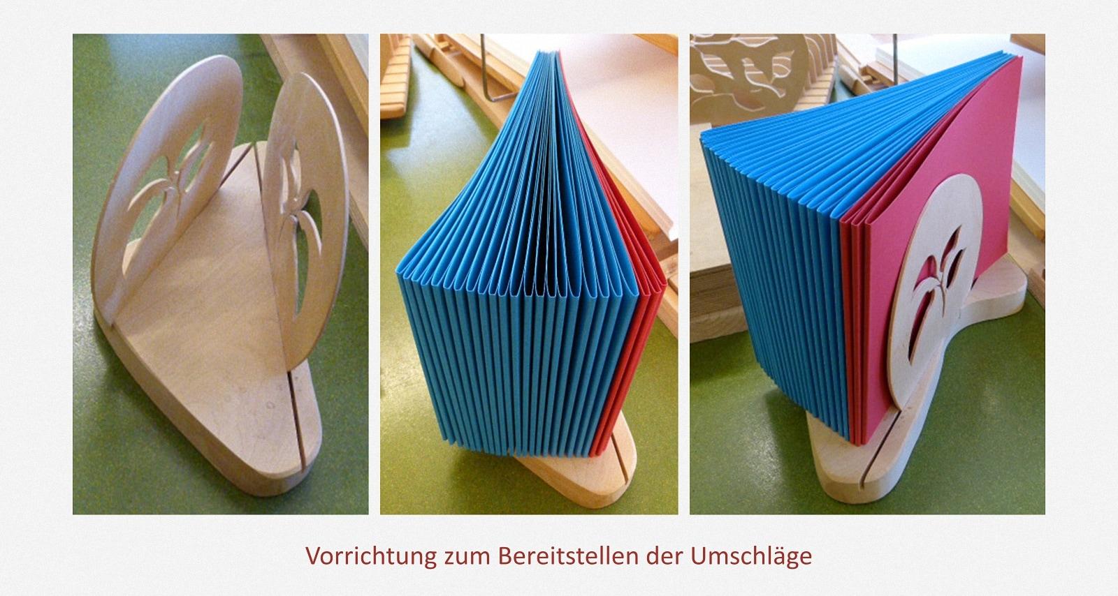 Zähl- & Sortierhilfen Karl-Schubert-Werkstätten – Filderstadt Papierwerkstatt Entwickler: Hans Martin Nüssle