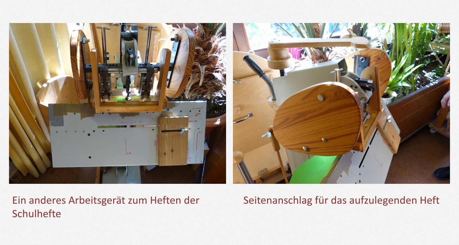 Schulhefte klammern Karl-Schubert-Werkstätten – Filderstadt Papierwerkstatt