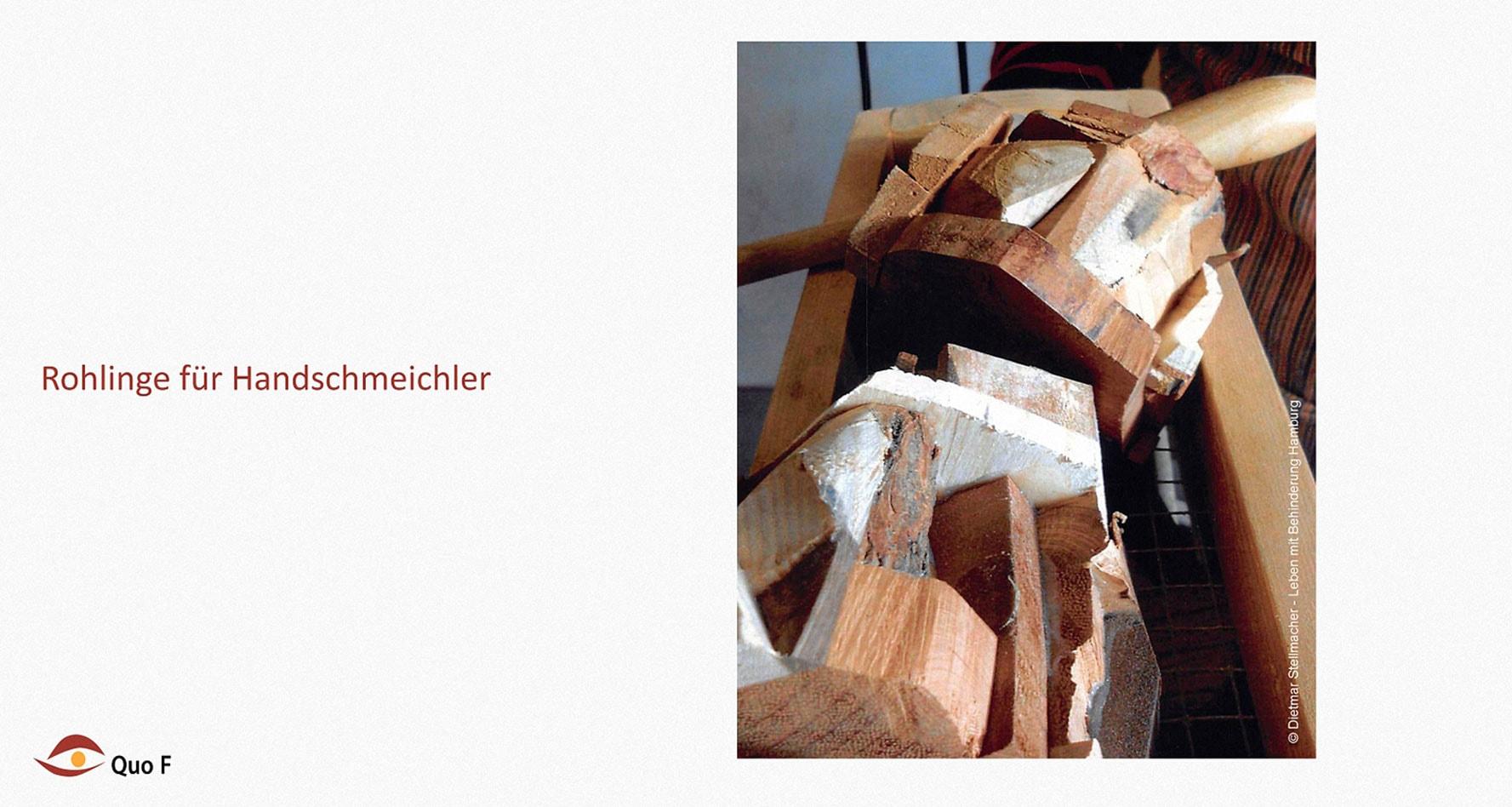 Schleifen Leben mit Behinderung Hamburg (LmbH) Arbeit unterstützende Geräte Entwickler: Dietmar Stellmacher Fotos: Dietmar Stellmacher